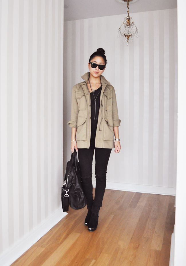 17 Best ideas about Utility Jacket Outfit on Pinterest | Utility jacket Green utility jacket ...