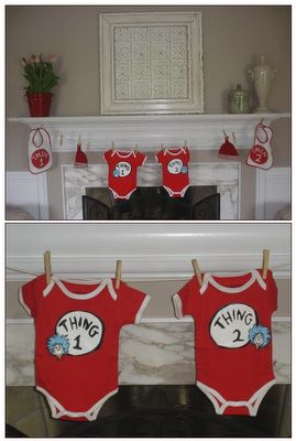 Dr. Seuss Baby Shower - Love this for Decorations!