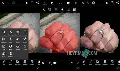 Cara Mengganti Backround Foto Menggunakan PicsArt