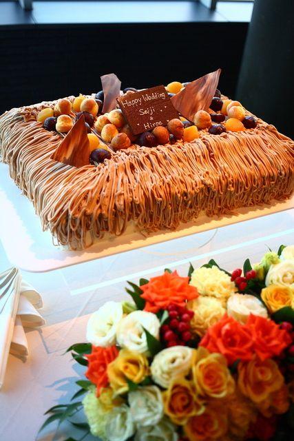 Wedding cake / ウェディングケーキ モンブラン