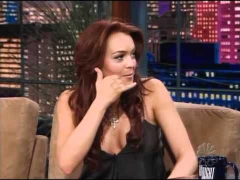 Lindsay Lohan on Jay Leno June 2004