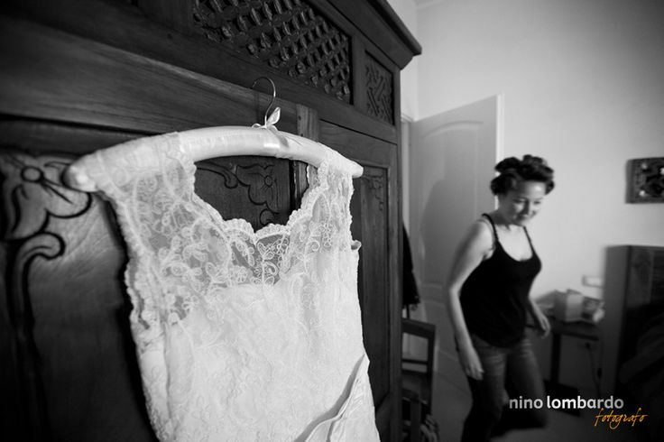 The bride's dress, how exciting! Preparations begin for the wedding ...  view gallery: © www.ninolombardo.it