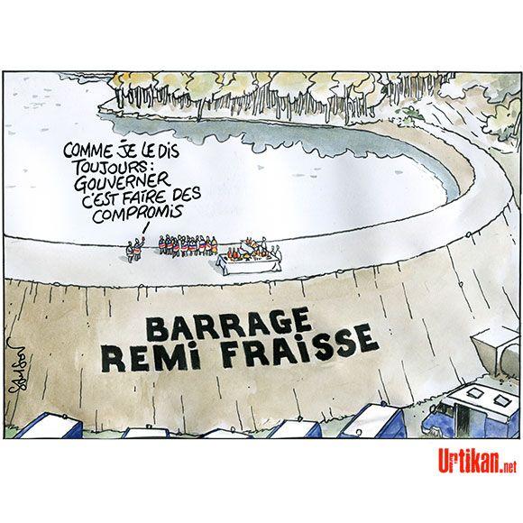 Où en est le projet du barrage de Sivens ? - Dessin du jour - Urtikan.net