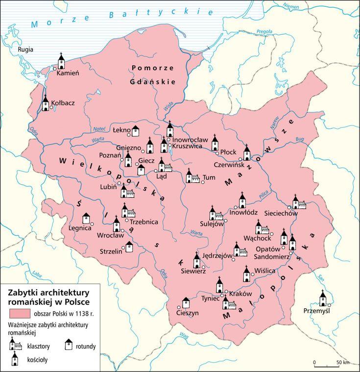 Zabytki architektury romańskiej w Polsce