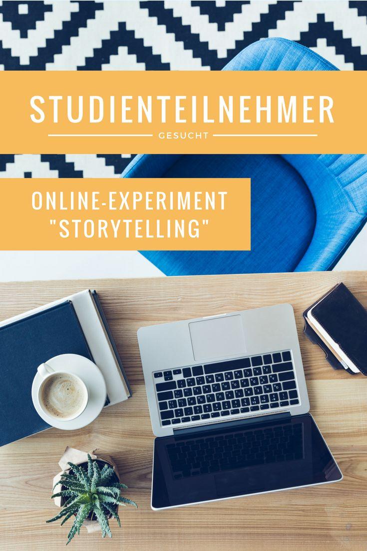 Im Rahmen meiner Masterarbeit bin ich auf der Suche nach Studienteilnehmern für mein kleines Online-Experiment zum Thema Storytelling in der Markenkommunikation. Das Ganze dauert nur 10-15 Minuten und ist völlig anonym! Ich würde mich wahnsinnig freuen, wenn ihr mich dabei unterstützt :-)  Vielen Dank im Voraus!   Hier geht´s zum Experiment: https://www.soscisurvey.de/storytelling_markenkommunikation/