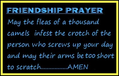 Funny Friendship Poems | Friendship Prayer | Thoughts To Live By...