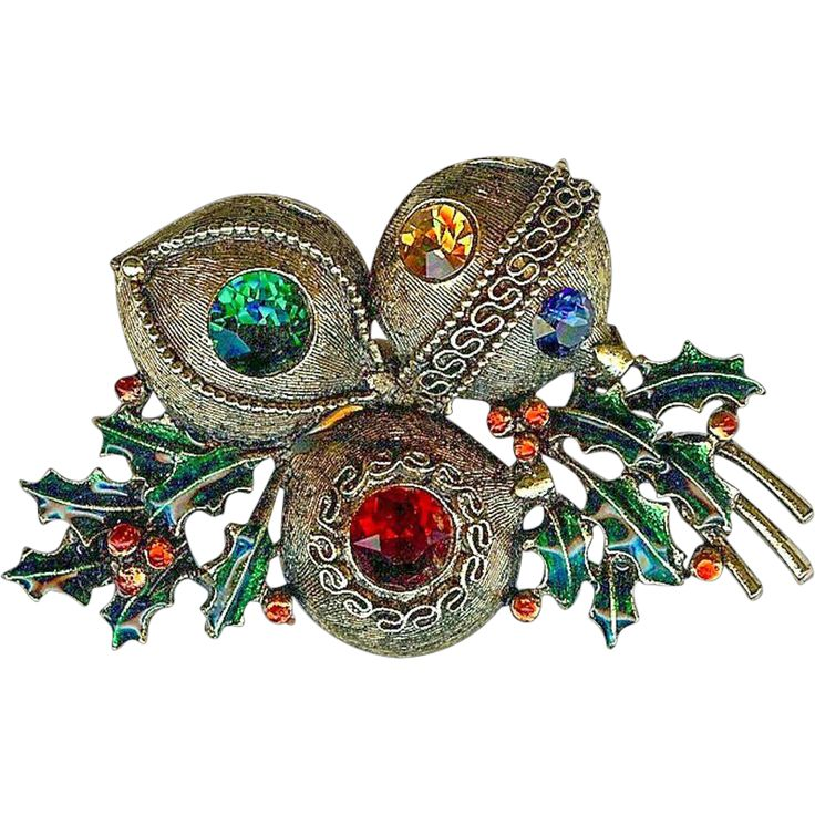 151 Best Images About Vintage Christmas Jewelry On