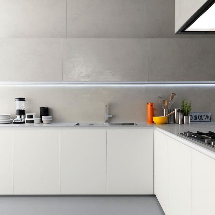 Kitchen with Ceramic Sheets | Laminam