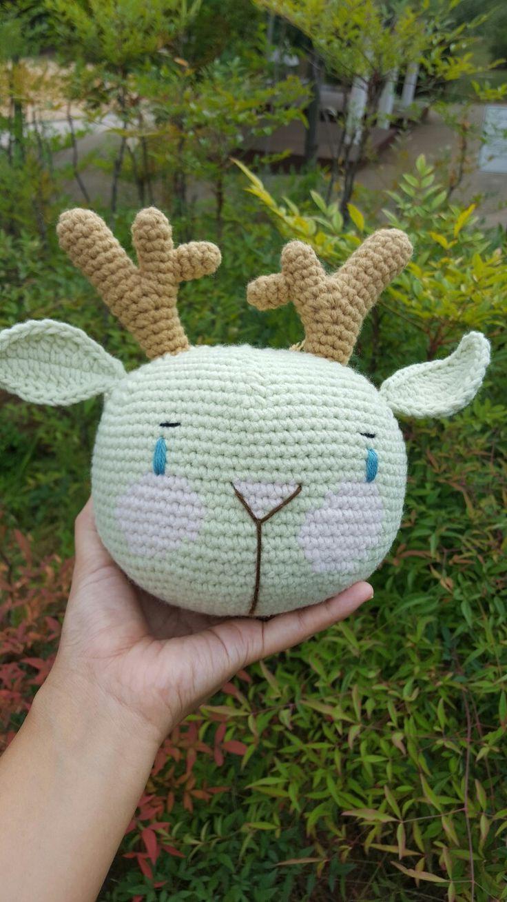 crochet deer dolls ,amigurumi   anjs2004.blog.me