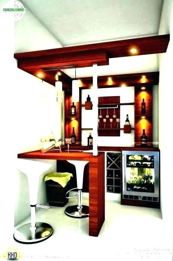 Small Bar For Living Room Best Of Small Bar Design Gloriabreck In 2020 Bar Counter Design Bars For Home Home Bar Designs