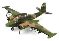 "Hobby Master HA3224 US Air Force Douglas B-26K Counter Invader Attack Aircraft - 609th Special Operations Squadron ""Nimrods"", 56th Special Operations Wing, Nakhom Phanom, Thailand, 1969 (1:72 Scale)"
