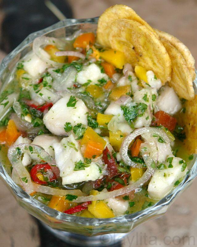 Ramon's ceviche de pescado or fish ceviche by laylita #Ceviche #laylita