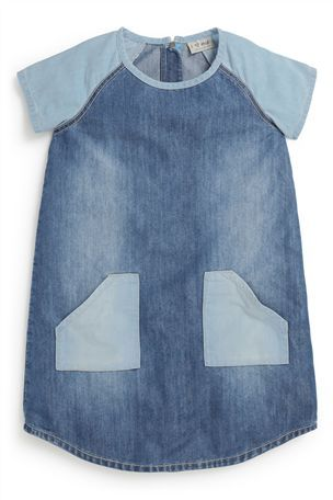 Buy Denim Mix Tunic (3-16yrs) from the Next UK online shop