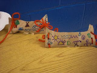 paper tube canoes!