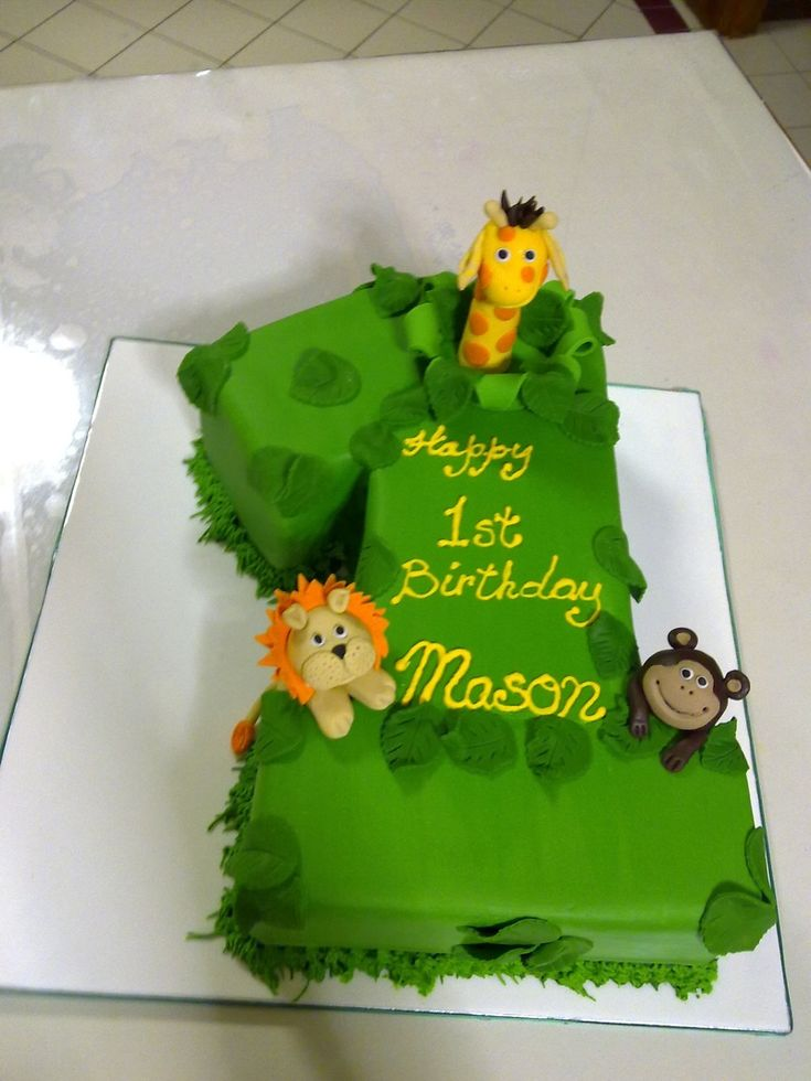 Birthday Cake Ideas Jungle Theme : jungle birthday cakes SPECIAL OCCASION & NOVELTY CAKES ...