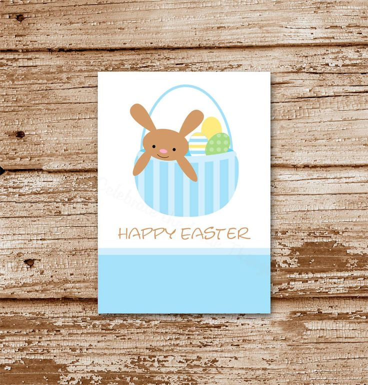 1000 images about easter cards gift tags on pinterest easter easter gift tags printable favor tags stickers labels easter bunny negle Images