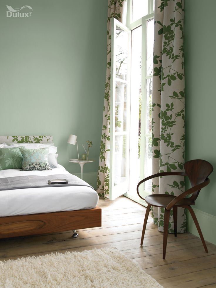 green draws in our natural surroundings and evokes feelings of pure serenity this colour can - Bedroom Curtain Colors