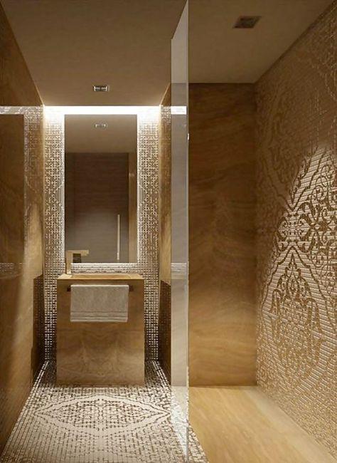 Nej, det går inte att komma ifrån att ett badrum inrett i marmor i olika färg eller form känns extra lyxigt. Men det finns annan lyxig inspiration, kika själv på dessa 19 lyxiga badrum!