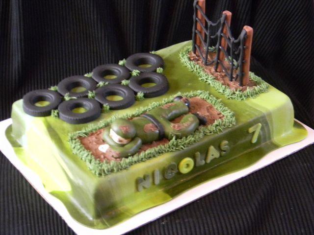 cute going away cake