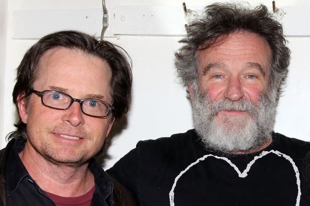 Michael J. Fox & Robin Williams                                                                                                                                                                                 More