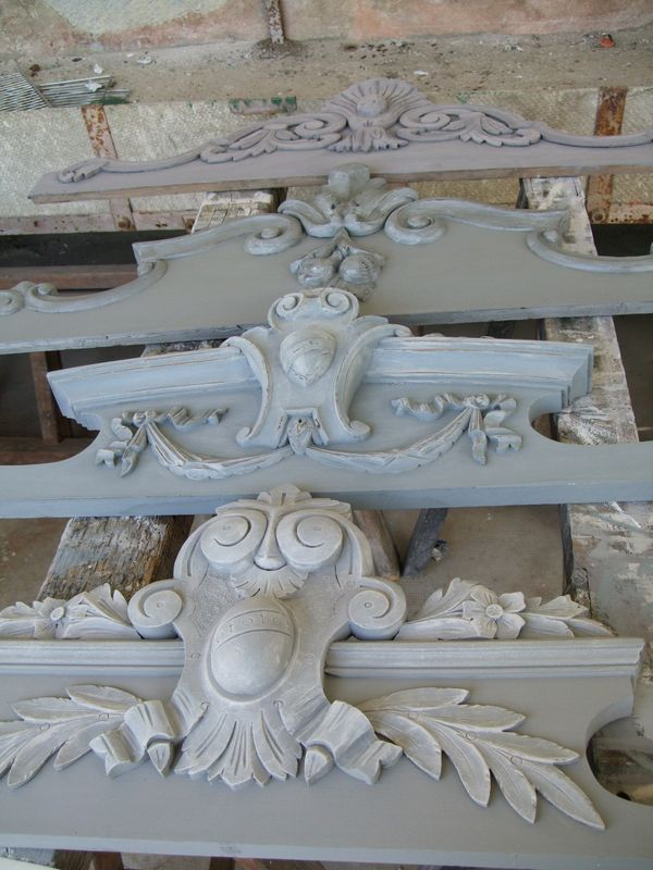 These architectural pieces are similar to the frames we now have in stock.