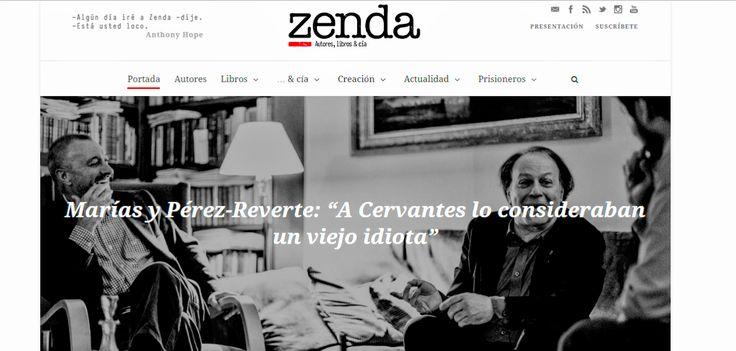 Zenda, el nuevo espacio literario fundado por Arturo Pérez-Reverte - http://www.actualidadliteratura.com/zenda-el-nuevo-espacio-literario-fundado-por-arturo-perez-reverte/