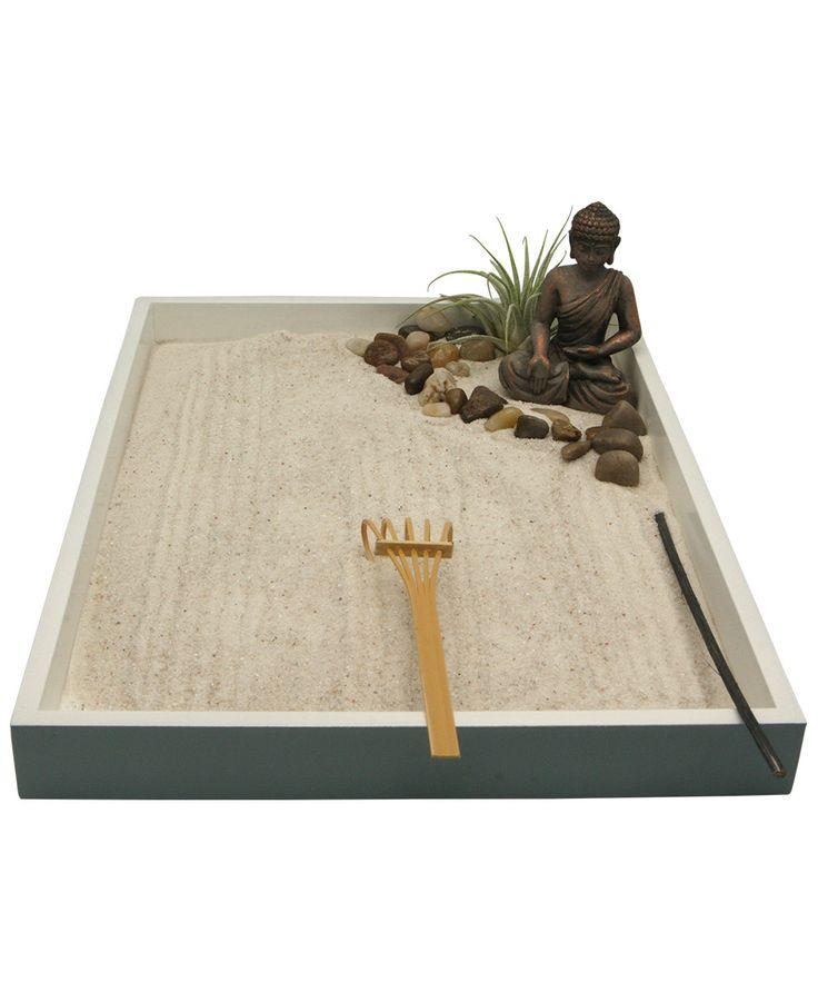 Miniature Zen Garden With Buddha Statue