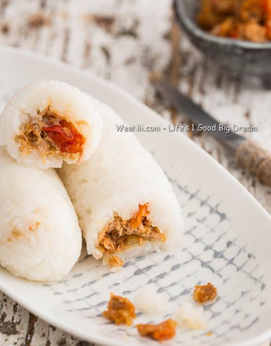 Lemper Ayam with Tuna and Vegetable - Quick Healthy Lunch Dish Recipes - WEENII.COM