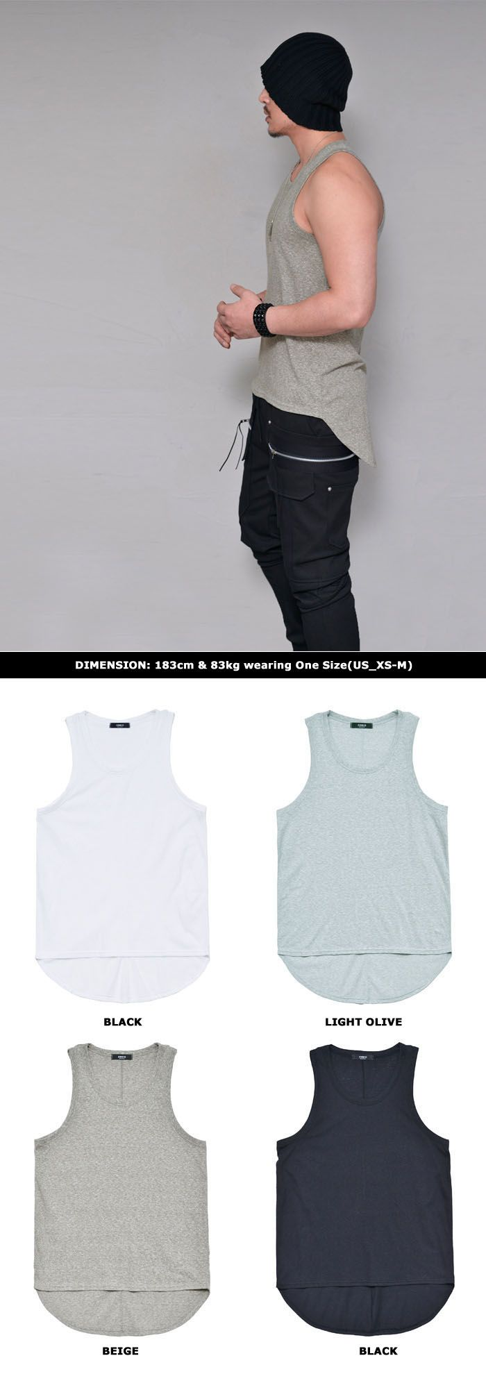 Marled Unbalance Singlet-Tank 181 by Guylook.com Great quality marled soft cotton with comfort & flexibility Easy fit & flattering slim silhouette Unbalance length Machine-wash cold. Hang-dry in the shade