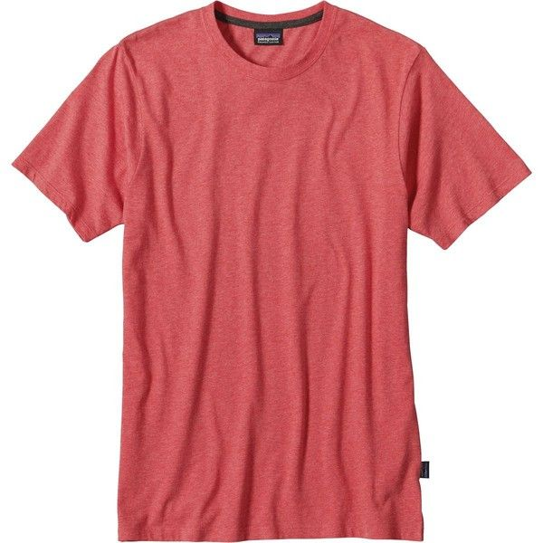 Patagonia Daily T-Shirt ($39) ❤ liked on Polyvore featuring men's fashion, men's clothing, men's shirts, men's t-shirts, mens t shirts, patagonia mens shirts, mens short sleeve t shirts and mens short sleeve shirts