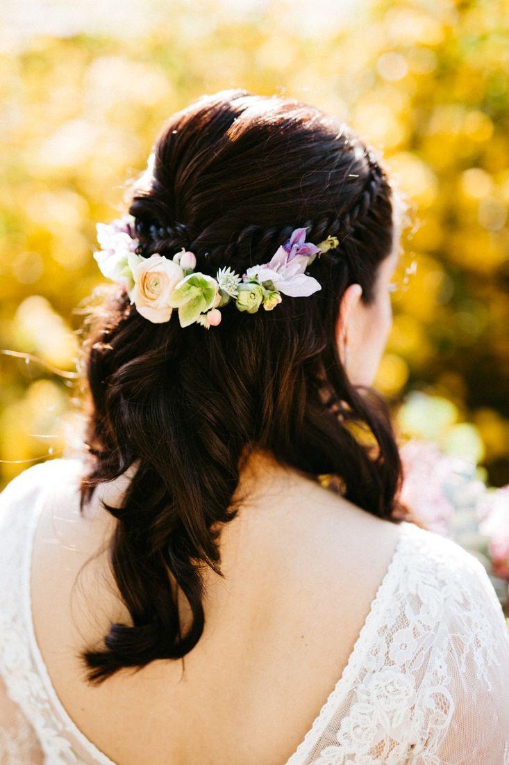 Inna Studio Flowers For Hair Kwiaty We Wlosach Polwianek Na Slub Wedding Fot Bajkowe Sluby Flowers In Hair Hair Flowers