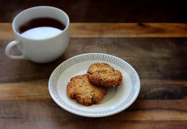 honey sweetened almond anzac biscuits | GLUTEN-FREE Cookies | Pintere ...