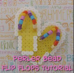 Iron bead flip flop