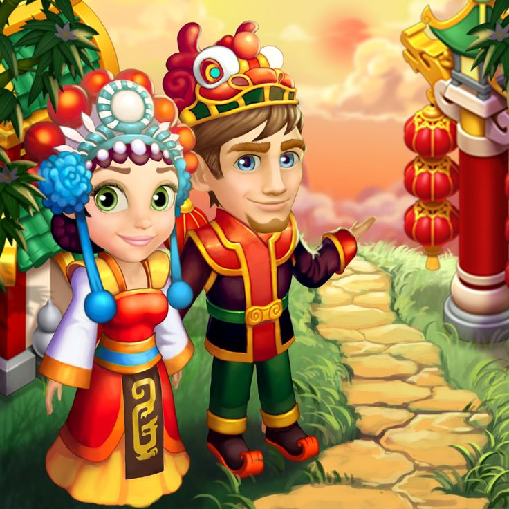 Try these Chinese style clothes and you'll never want to change again! :D #royalstorygame