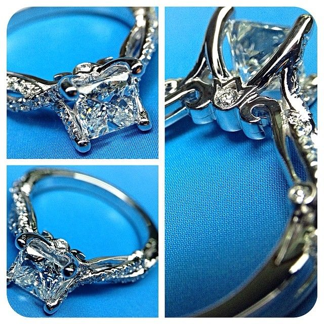 21 best wedding rings images on pinterest wedding bands verragio is a designer of diamond engagement rings and wedding rings crafted with utmost attention to detail and quality in new york city malvernweather Gallery
