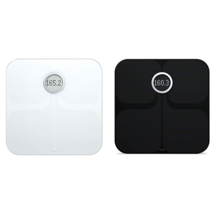 Fitbit Aria Wi-Fi Weight/Body Fat/BMI Digital Smart Scale - Refurbished