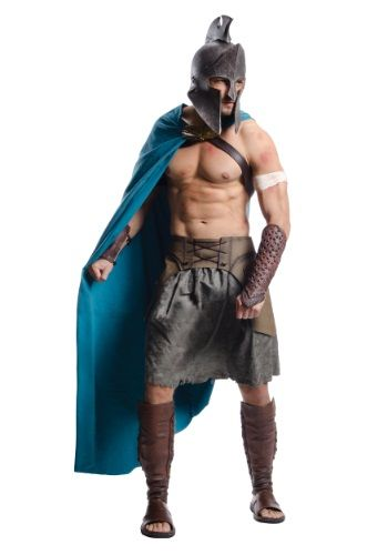 Are you ready to take on the Persians? Round up 299 of your closest friends and get ready for war when you wear this 300 Movie Deluxe Themistocles Adult Costume!