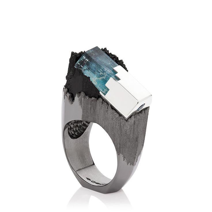 """""""A L'ÈRE GLACIÈRE"""" Ring by Ornella Iannuzzi"""