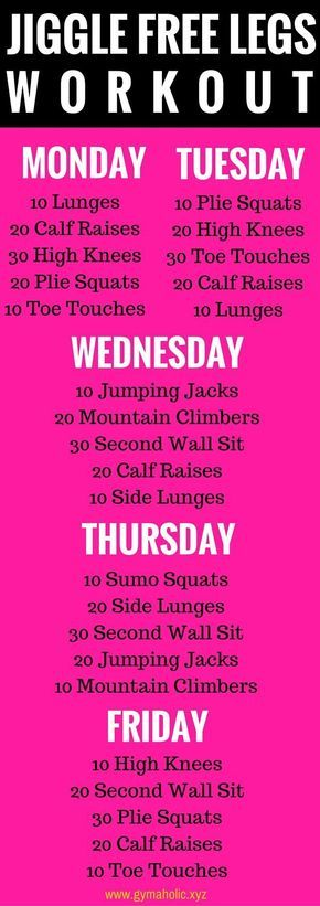 Effective Exercises For Weight Loss: 5 Days To Yummy, Jiggle-Free, Lean Legs