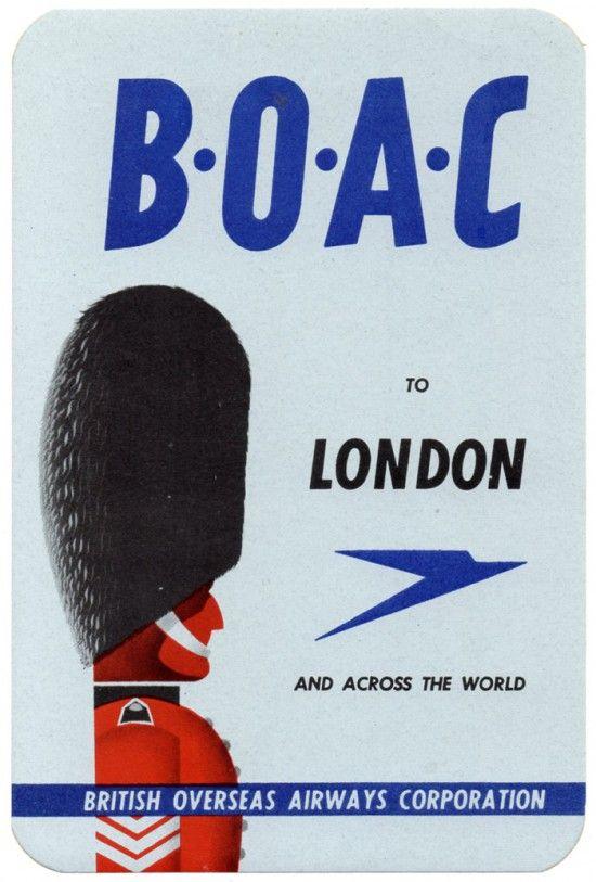 boac to london