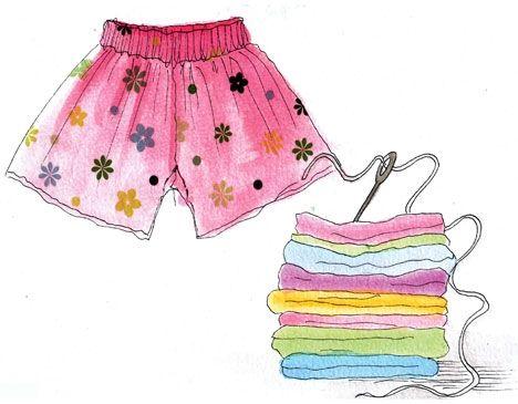 Dagens tip! Sy dine egne shorts