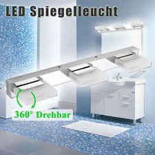 Nice LED Spiegelleuchte Badleuchte Bilderlampe Edelstahl Acrylglas Wasserdicht IP