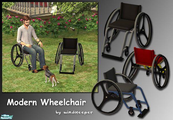 windkeeper's Modern Wheelchair