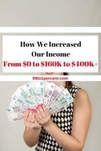 How we increased our income from $0 to $160K to $400K #DEBTFREE  #Debt #Frugality #MakingMoney #millionaire #MillionDollarChallenge #MillionDollarClub #Mortgage #networth #Personal #Finance#Progress #prosperity #ragstoriches #Saving #spendingmindfully #startedfromthebottom #Studentloans #Successstories #success #rich #riches #money #retirement #early #FIRE #blog #blogging #FAMILY #RELATIONSHIPS #FINANCIALINDEPENDENCE #FRUGALITY #MONEYSMARTS #PERSONALFINANCE #Jobs #Career