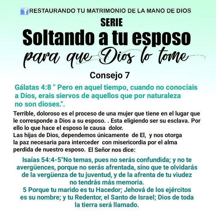Consejos De Dios Para Soltar Al Esposo Orar Por Mi Esposo Oracion Para Mi Esposo Poemas Cristianos