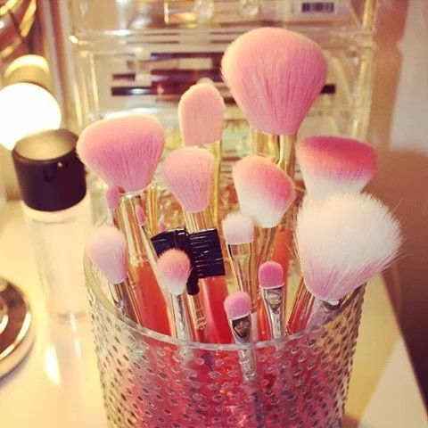 Pink and white ^^#makeup