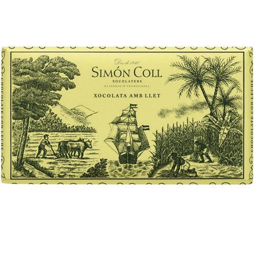 Simon Coll 200g. Ciocolata extrafina cu lapte FARA GLUTEN