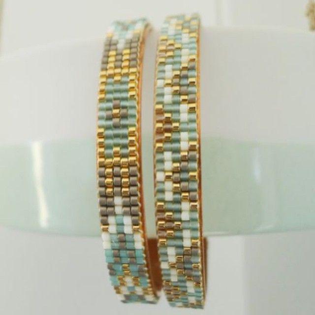 «#aksesuar #bead #bileklik #bracelet #craft #design #dizayn #deri #elişi #elyapımı #fashion #friendship #gotik #instagram #jewelry #jewellery #moda #miyuki…»