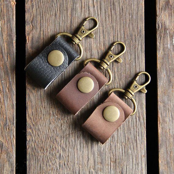 Earphone ties - earphone wrap key chain