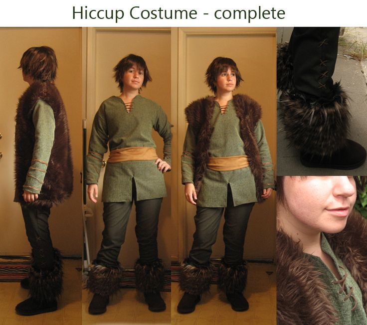 Ev would love this -- need to do a little research to see if I can tweak it to be more period. Hiccup Costume Complete by ~Spwinkles on deviantART